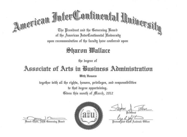 Associate of Arts