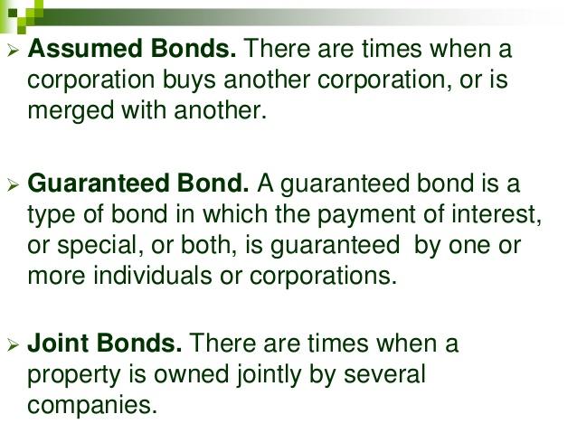 assumed bond