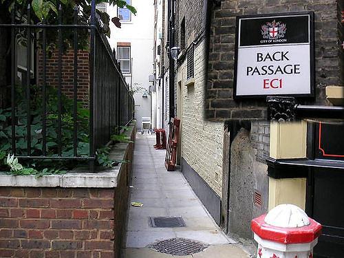 back passage