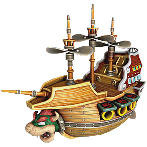 Bowser boat