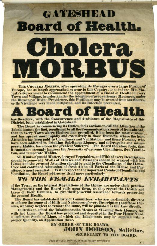 cholera morbus