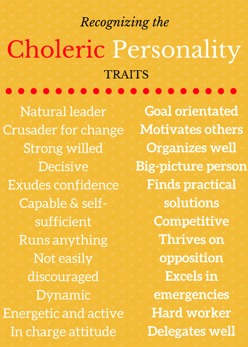 choleric - Liberal Dictionary