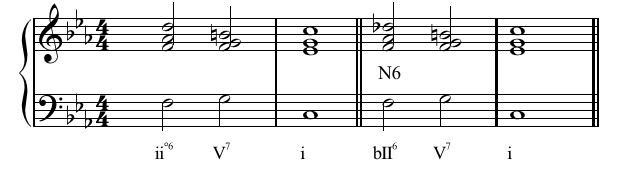 chord of the sixth
