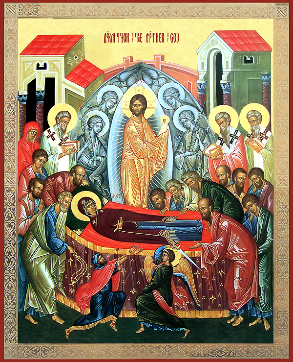 dormition of the blessed virgin