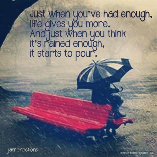 it never rains but it pours essay