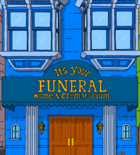 it's your funeral