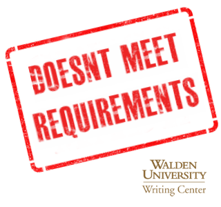 meet the requirements