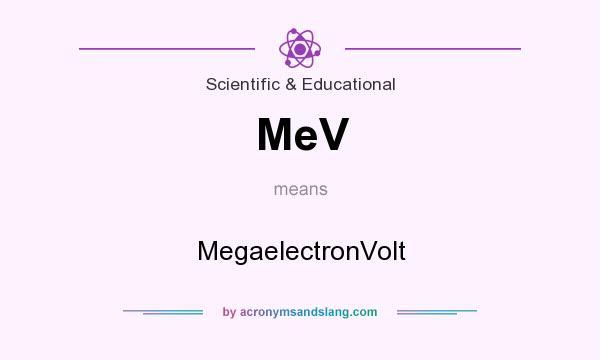 megaelectron volt