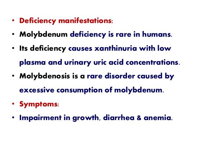 molybdenosis