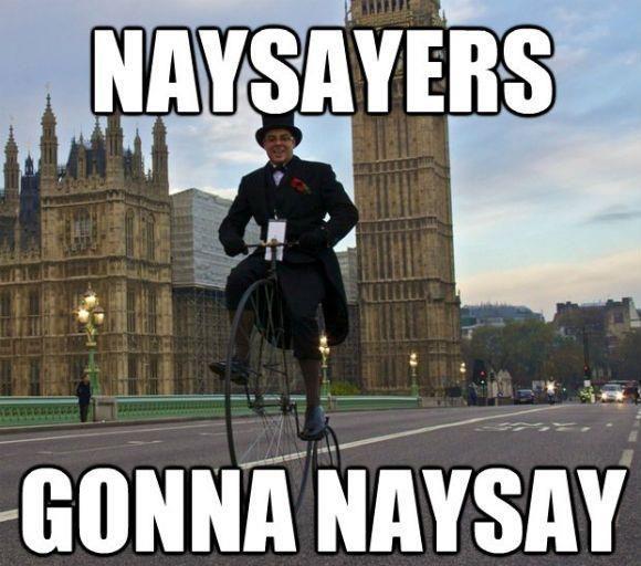 naysay