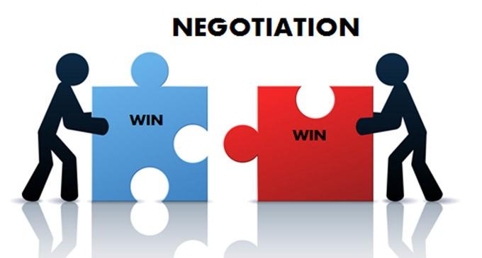 negotiated