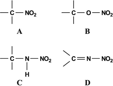 nitramino group