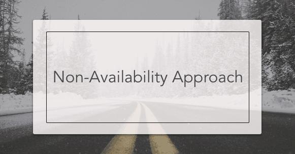non-availability