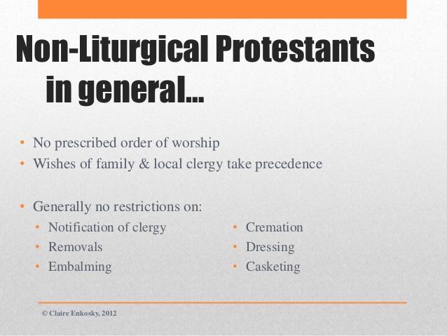 non-liturgical