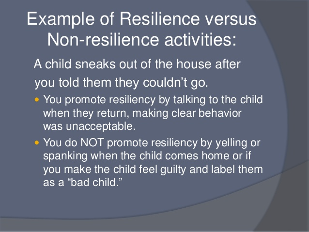 non-resilience