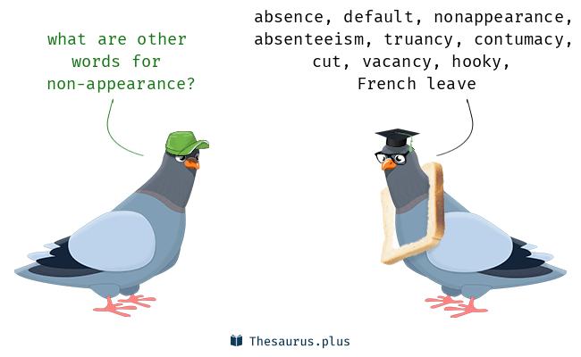 nonappearance