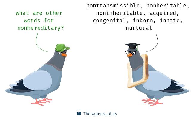 nonhereditary