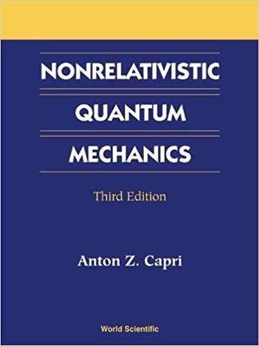 nonrelativistic quantum mechanics