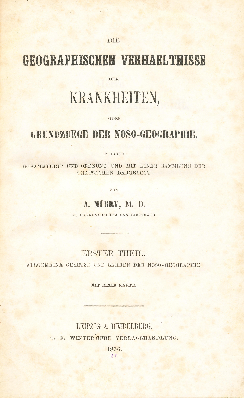 nosogeography