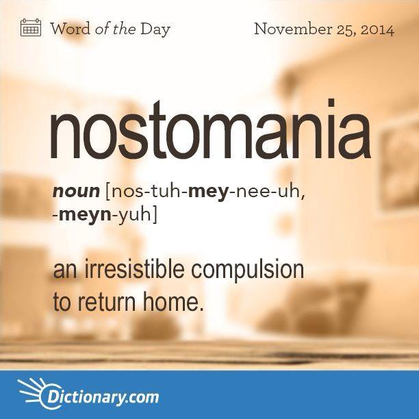 nostomania