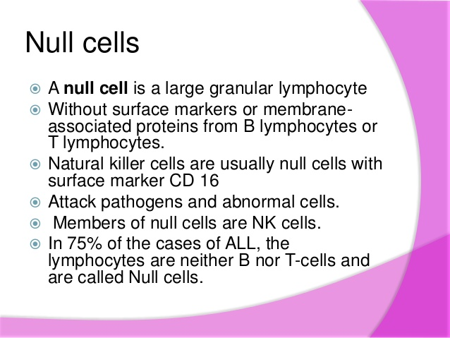 null cell