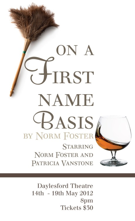 on a first-name basis