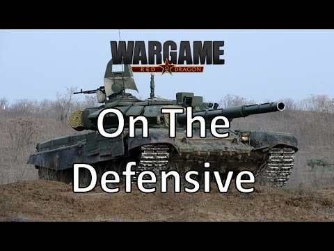 on the defensive