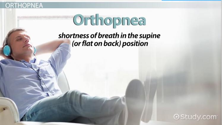 orthopnea