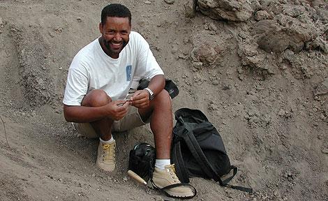 paleoanthropologist