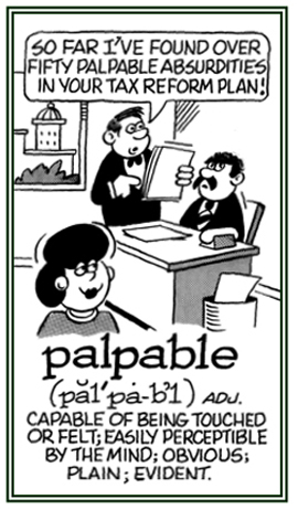 palpability