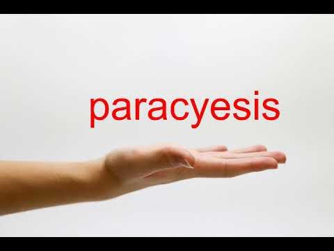 paracyesis