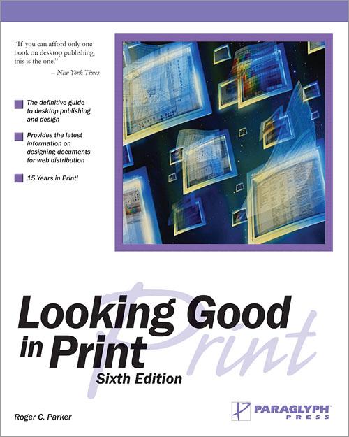 paraglyph printing
