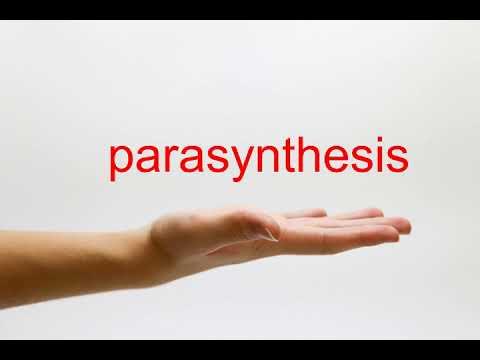 parasynthesis