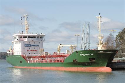 parcel tanker