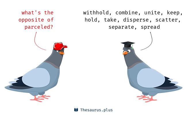 parceled