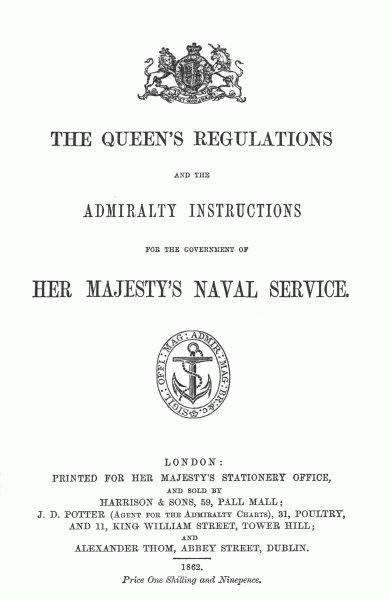 Queen's Regulations