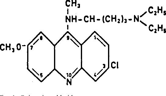 quinacrine hydrochloride