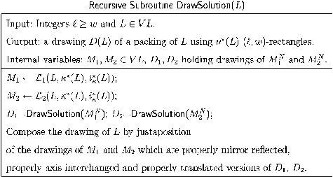 recursive subroutine