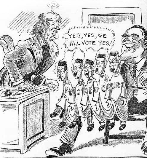 roosevelt's court packing plan