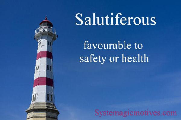 salutiferous
