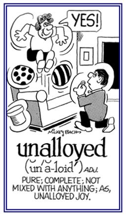 unalloyed