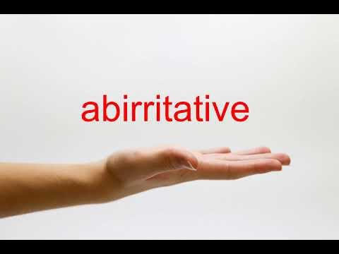 abirritative