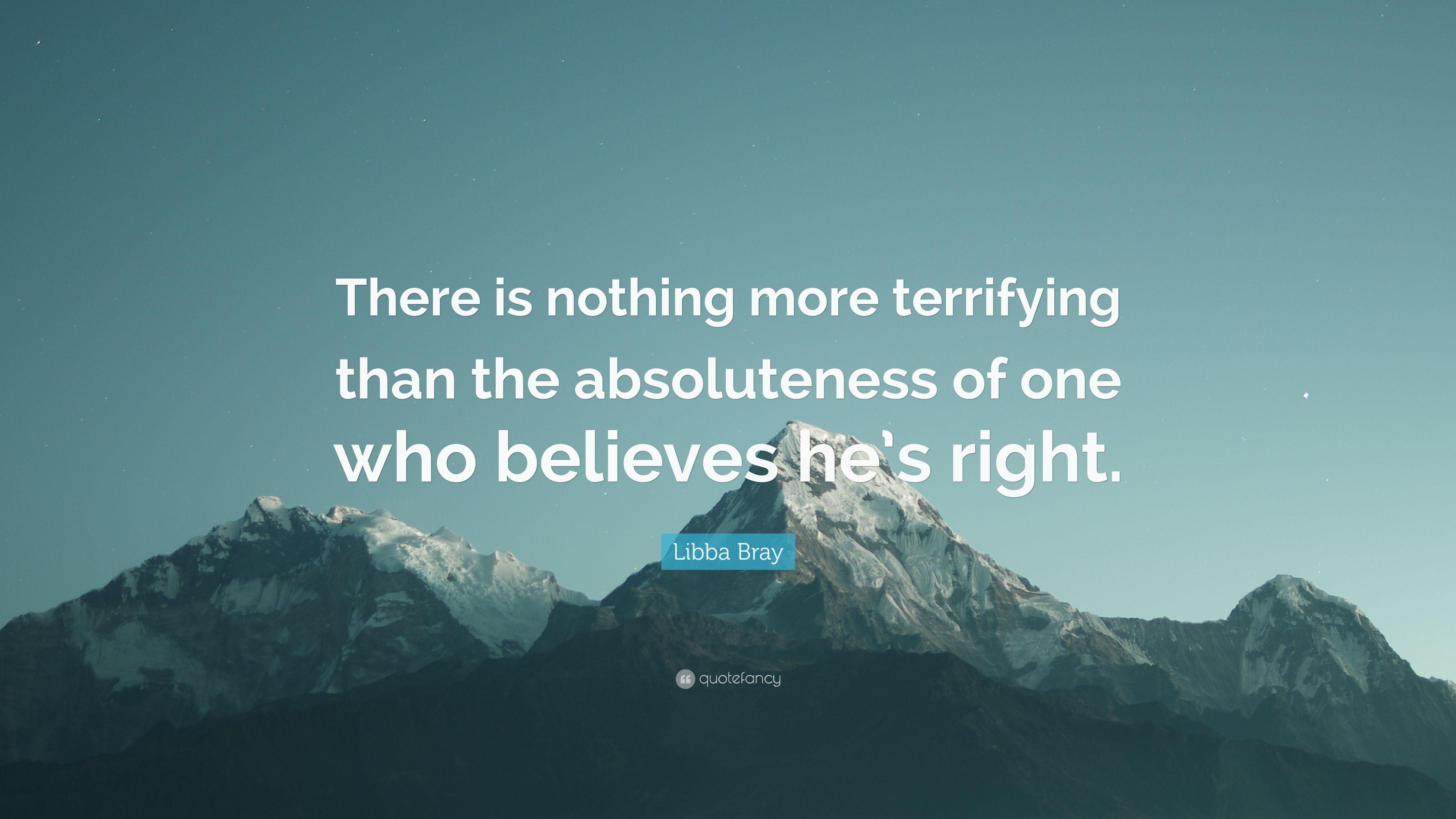 absoluteness