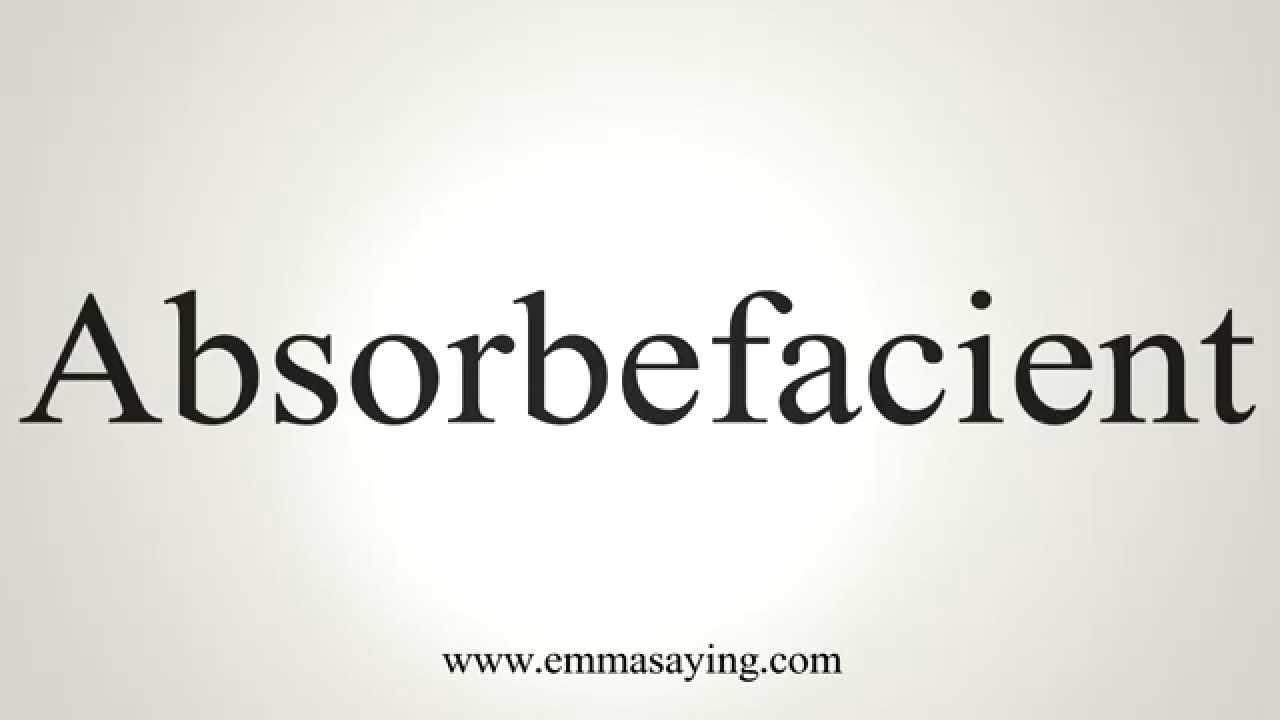 absorbefacient