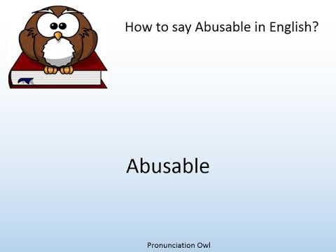 abusable