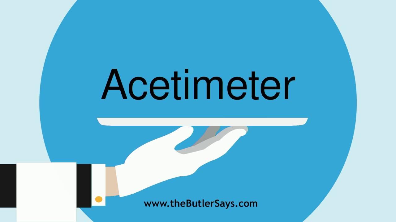 acetimeter
