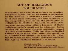 act of toleration