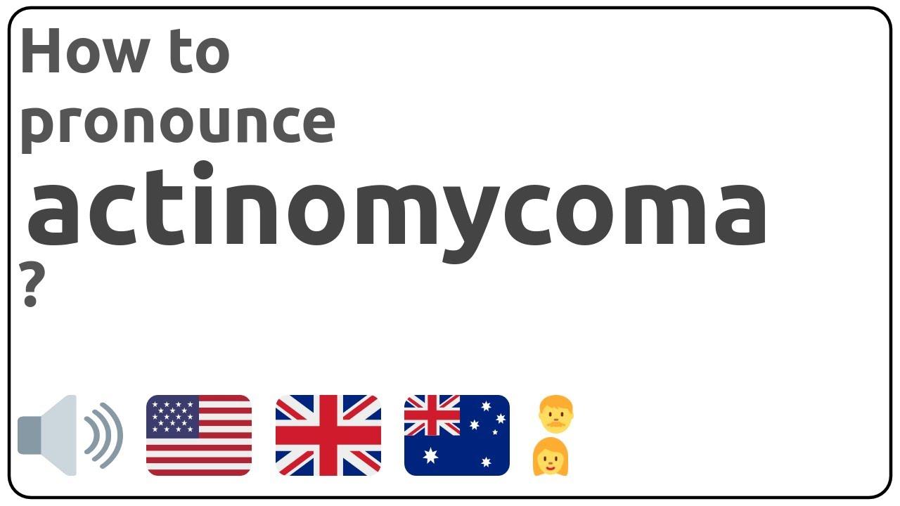 actinomycoma