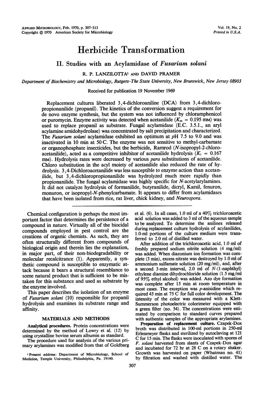 acylamidase