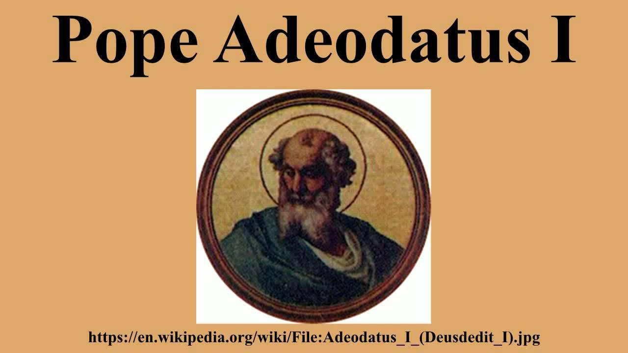 adeodatus i
